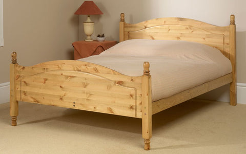 Orlando king size pine bed frame