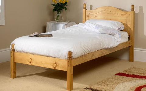 Orlando single pine bed frame
