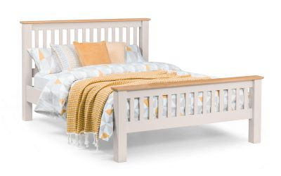 Richmond Grey King size bed frame