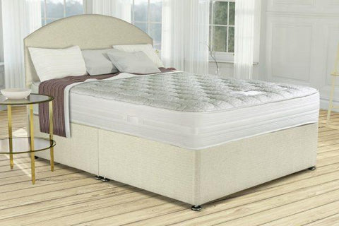 Siesta Salerno Gel king size divan bed