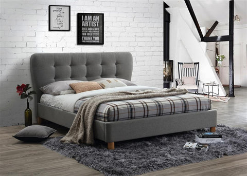 Stockholm Fabric Small Double Bed Frame