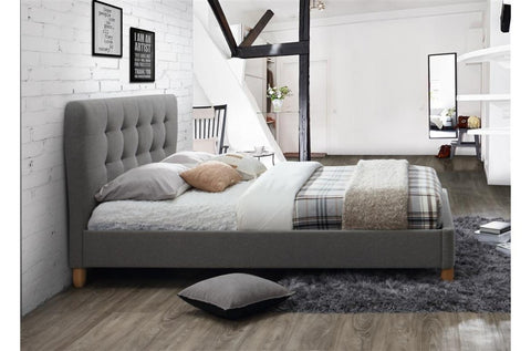 Stockholm Fabric Small Double Bed Frame Corstorphine Bed Centre