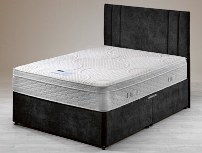 Tranquility 2000 Latex double divan bed