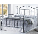 Victoria double metal bed frame 135cm