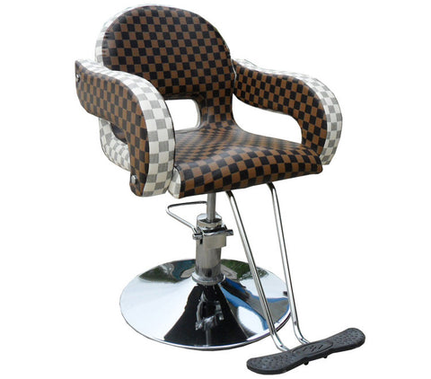 Constructor Studio Gramercy Barber Brown Chair