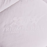 """Triumph Hill"" Comforter 100% Australian Wool Heavy Weight 100% Jacquard Cotton Winter King. Machine washable. Deluxe duvet - DSD Brands"