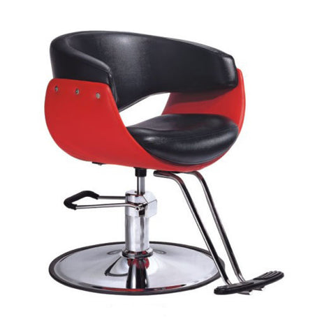 LENOX Barber chair red