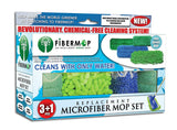 Fibermop® 3+1 Piece Replacement Mop Set