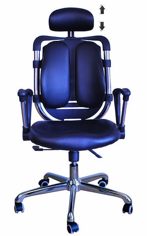 Constructor Studio Tribeca Ergonomic Black Chair With Fixed Arms
