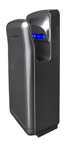 Constructor High Speed 1900 Watts Durable Plastic Automatic Infrared Dark Grey Hand Dryer