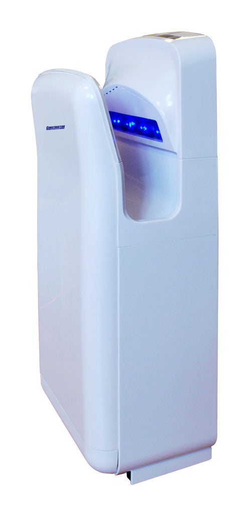 Constructor 1900 Watts Infared High Speed Automatic Hand Dryer Plastic Durable - DSD Brands