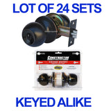 Wholesale Door Lock Sets Handle Knob Entry Passage Privacy Oil Rubbed Bronze - DSD Brands