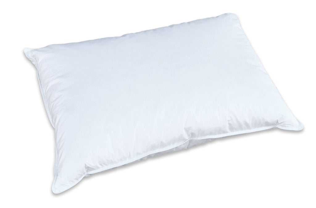 Creative Living Solutions Feather and Down Bed Pillow Standard/Twin
