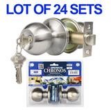Wholesale Door Lock Sets Handle Knob Entry Passage Privacy Satin Nickel Locks - DSD Brands