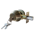 """Deadbolt"" Door Lock Set with Double Cylinder, Finish: Antique Bronze - DSD Brands"