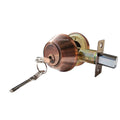 """Deadbolt"" Door Lock Set with Double Cylinder, Finish: Antique Copper - DSD Brands"