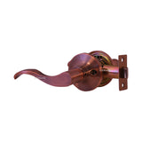 """Prelude"" Passage Lever Door Lock with Knob Handle Lockset, Antique Copper Finish - DSD Brands"