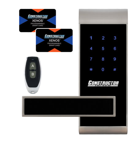 Xenos Door Lock Keyless Touch Screen Remote Control Access Cards- Left - DSD Brands