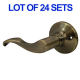 Wholesale Door Lock Sets Handle Knob Entry Passage Privacy Antique Bronze - DSD Brands