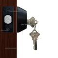 """Deadbolt"" Door Lock Set with Double Cylinder, Finish: Oil Rubbed Bronze - DSD Brands"