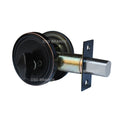 """Deadbolt"" KEYED ALIKE, Door Lock Set with Single Cylinder, Finish: Oil Rubbed Bronze - DSD Brands"