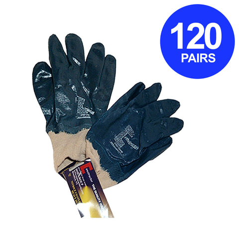 Constructor® Nitrile Coated Heavy Duty Gloves. 120 Pairs. - DSD Brands