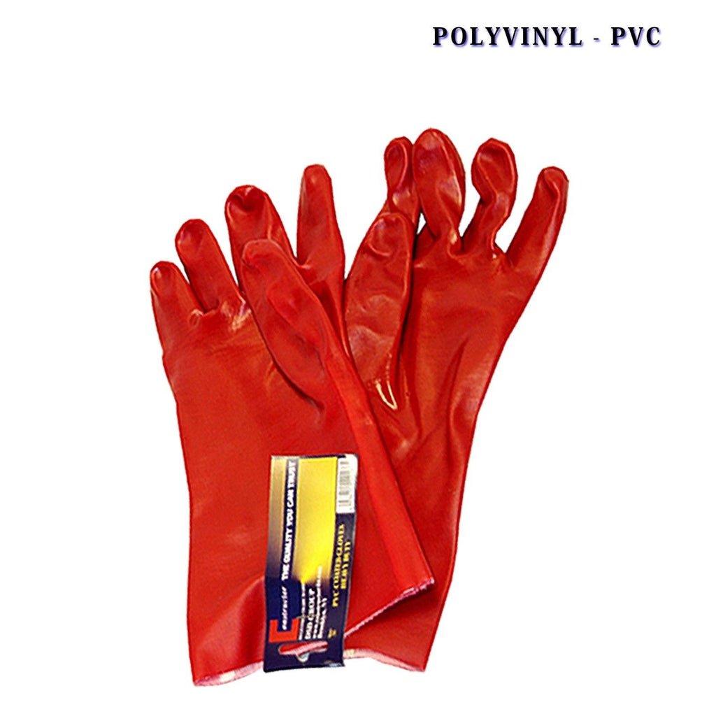 Constructor® PVC Heavy Duty Gloves Red - DSD Brands