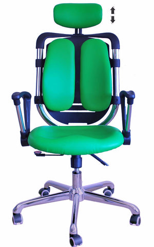 Constructor Studio Tribeca Ergonomic Green Chair With Fixed Arms