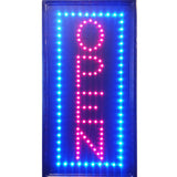 """Constructor"" Vertical Open Sign 10""x19"" animated Motion LED Neon Light, On/Off and 2 Way Animation Switch + Chain - DSD Brands"