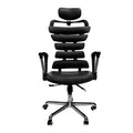 Constructor Studio Soho Ergonomic Black Chair With Fixed Arms