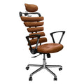 Constructor Studio Soho Ergonomic Brown Chair With Fixed Arms