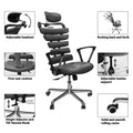 Constructor Studio Soho Ergonomic White Chair With Fixed Arms