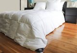 """Triumph Hill"" White Goose Down Comforter with 2 Pillows Set Deluxe Set - DSD Brands"