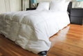Triumph Hill Down Bed Comforter 100% Jacquard Cotton Case Twin/Standard Size