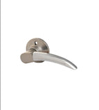 Constructor Sonata Satin Nickel Dummy Right Lever Door Lock with Knob Handle