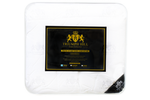 """Triumph Hill"" Down Bed Comforter Twin/Standard - DSD Brands"