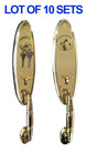 Constructor Polished Brass Door Locksets Handle - Wholesale