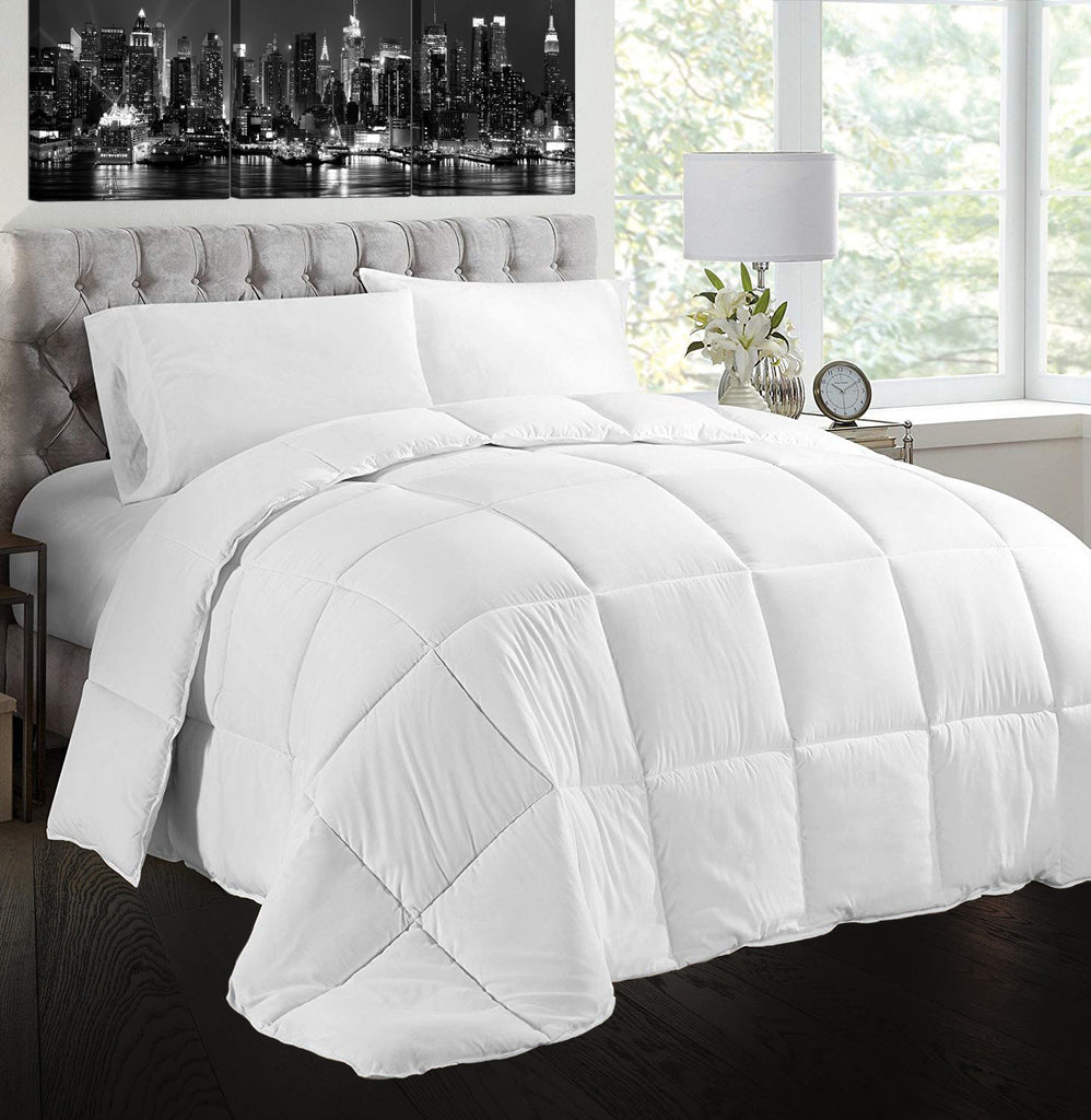 Creative Living Solutions Feather and Down Comforter Queen