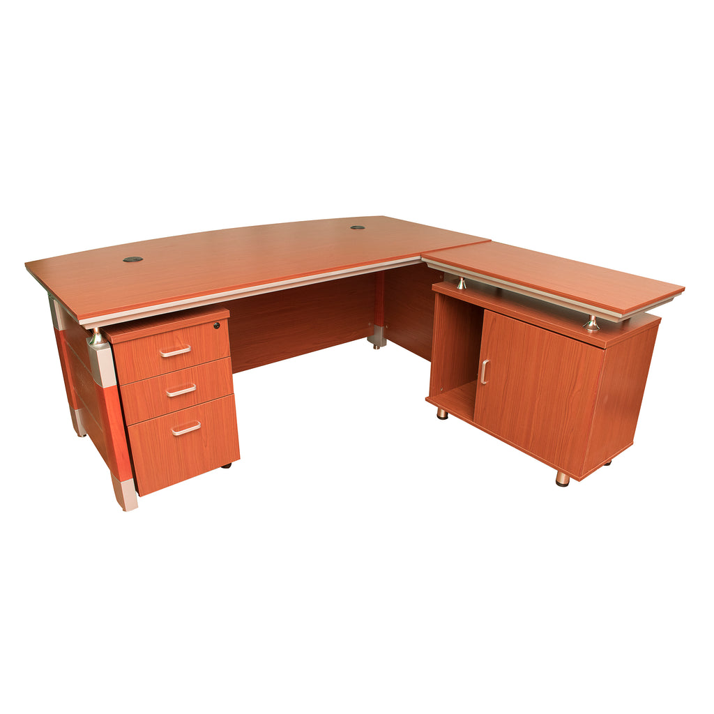 Constructor Studio Madison Desk Full Set Light Brown