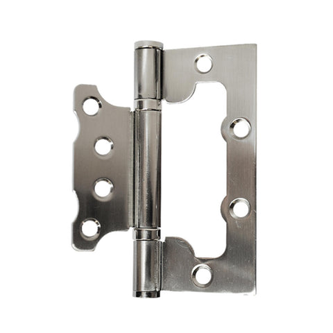 "CONSTRUCTOR Non-mortise hinge. Satin Nickel finish. 4""x3""x2.5 mm. - DSD Brands"
