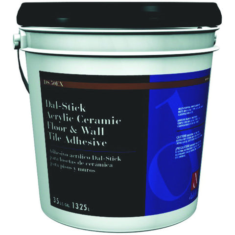 Daltileå¨ Dal-Stick Acrylic Ceramic Floor & Wall Tile Adhesive, 3.5 Gallons