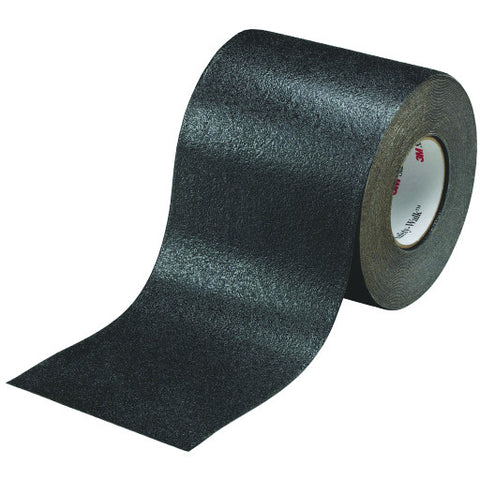 "Safety-Walk䋢 Slip-Resistant Conformable Tapes & Treads 510, Black, 4"" X 20 Yd. Roll"