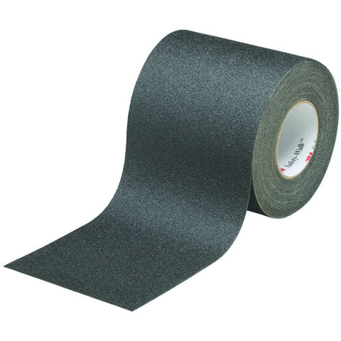 "Safety-Walk䋢 Slip-Resistant General Purpose Tapes and Treads 610, Black, 6"" X 20 Yd. Roll"