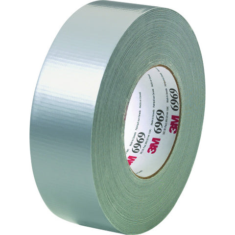 "Duct Tape, Extra Heavy-Duty, 6969, 1.88"" X 60 Yd., Silver"