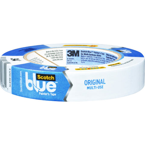 "Scotchblue䋢 Painter's Tape, 2090-24A-Cp, .94"" X 60 Yd., Contractor Pack, 9 Rolls per Pack"