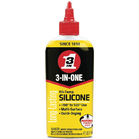 3-In-Oneå¨ All Temp Silicone Drip Oil, 4 oz.
