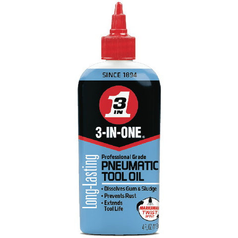 3-In-Oneå¨ Pneumatic Air Tool Oil, 4 oz.