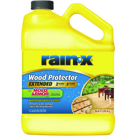 Rain-Xå¨ 5 Year Wood Protector, Natural, 1 Gallon