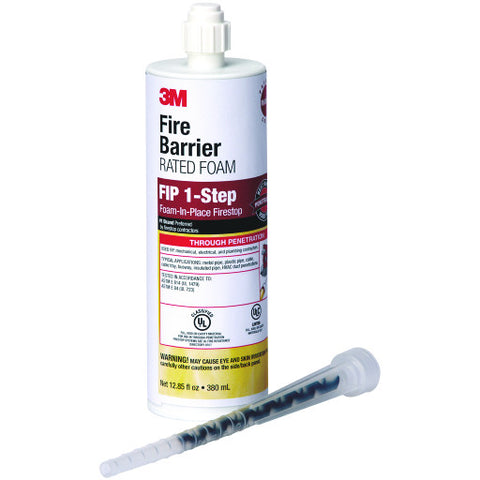 Fip 1-Step Fire Barrier Foam, 12.85 oz. Cartridge