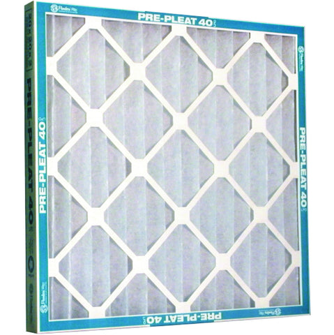 MERV 7 Pre-Pleat 40 LPD Economy Cotton / Synthetic Air Filter, 12X20X1""